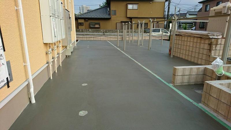 土間工事 (2)